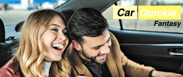 Women naughty desire: Car Quickie